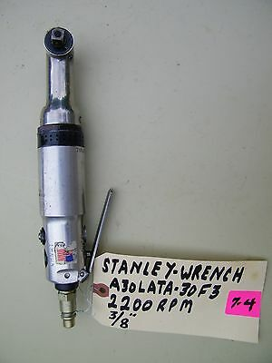 """Stanley -Pneumatic Nutrunner- A30Lata-30-F3, 2200 Rpm, 3/8"""","""