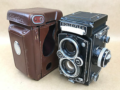 Rolleiflex 3.5E TLR 120 Film Camera with Planar Lens - Just Serviced !!!!