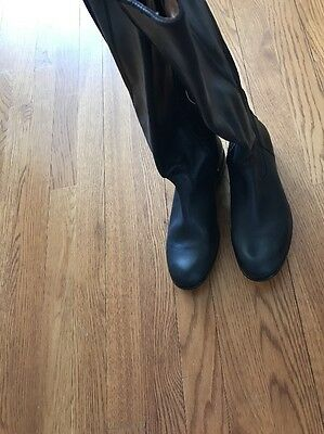Kenneth Cole Women's Black Leather Boots New Size 6