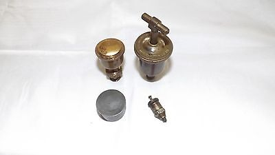 Hit Miss Stationary Steam Engine Oiler Grease Cup D.t. Williams
