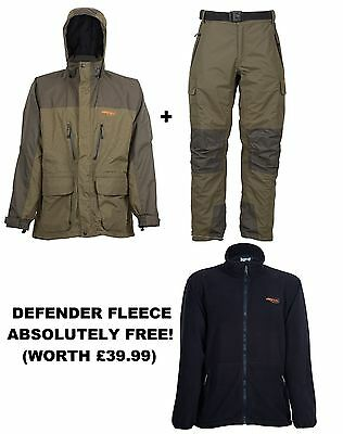 Airflo Defender 3/4 Jacket & Trousers Combo Deal (With FREE Defender Fleece)