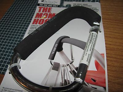 The Mommy Hook - For Strollers Or Carrying Multiple Bags  quick ship~ BLACK