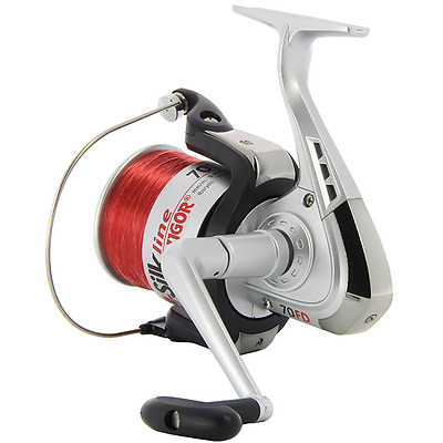 1 X Large Sea Fishing Reels Lineaeffe Vigor Silk 70 Beach Pier Reel + Line