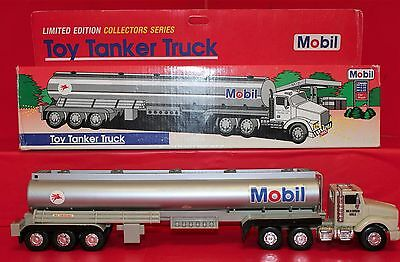 1993 Limited Edition Mobil Toy Tanker Collectors Series In Box