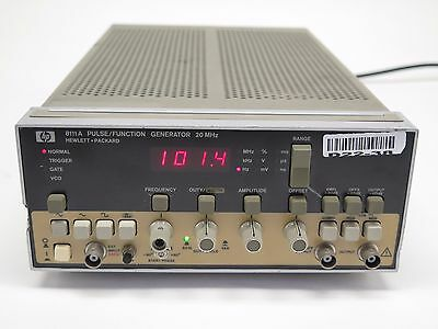HP 8111A Pulse / Function Generator 20 MHz