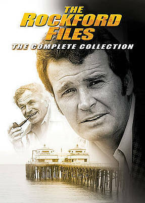 The Rockford Files Complete Collection Series DVD Set Seasons 1-6 + 8 Movies
