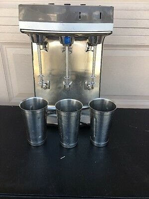 Scovill Hamilton Beach Model 941-1 Drink Mixer 3 Bay