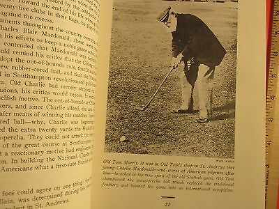 Antique Vintage 1956 illus Story of American Golf Herbert Wind First Edition