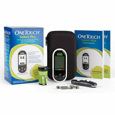 OneTouch Select Plus Blood Glucose Diabetic Meter/Monitor/System + Test Strips