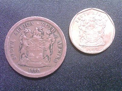 South  Africa   5  Cents   1990       10   Cents    1997