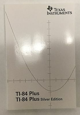 TI 84 Plus Silver Edition Users Manual
