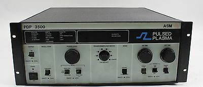 ASM America Advanced Energy Pulsed Plasma Controller PDP 3500 DC Power Supply
