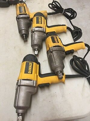 (4) Dewalt DW294 7.5 Amp 3/4 in. Impact Wrench