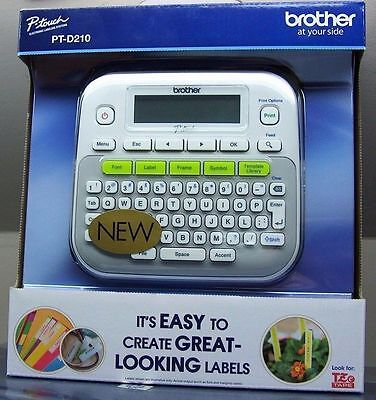 Brother P-touch Label Maker PT-D210 BRAND NEW