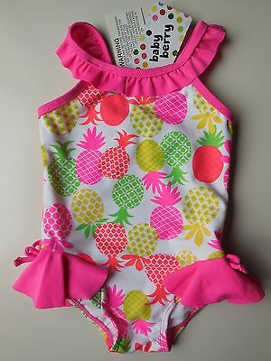 Baby Girl Bathers Swimwear Swimsuit Size 0 Fits 6-12M *new