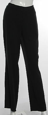 Women's GEORGE Black Polyester Blend Casual Pant Size 6