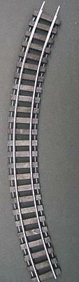 """Gargraves 72-402SW S Gauge Stainless 72"""" Curve Wood Tie Sectional Track"""