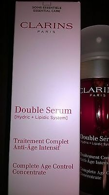 Clarins Double Serum Hydric+Lipidic System 50ml.