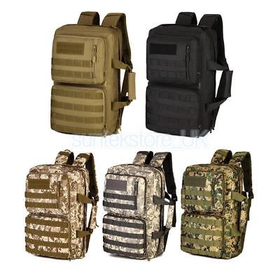35L Waterproof Molle Bag BACKPACK Bug Out Bag Hunting Tactical Military Day Pack