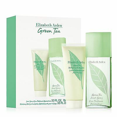 Elizabeth Arden Gift Set for Women contains EDT and Green Tea Body Lotion 100 ml