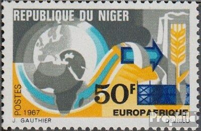 Niger 167 (complete.issue.) unmounted mint / never hinged 1967 Europafrique