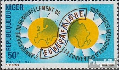Niger 299 (complete.issue.) unmounted mint / never hinged 1971 Europafrique