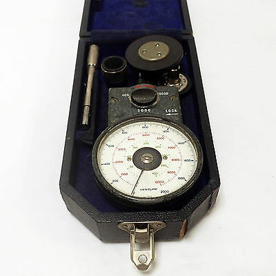 Smiths Venture Hand Tachometer / Rev Rpm Counter / Speedometer. Boxed. Ath. 6.