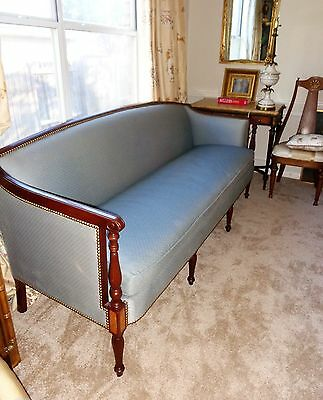 Antique19th Century Styled American Federal or Sheraton Mahogany Sofa