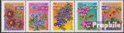 South Africa 1363-1367 five strips (complete.issue.) unmounted mint / never hing
