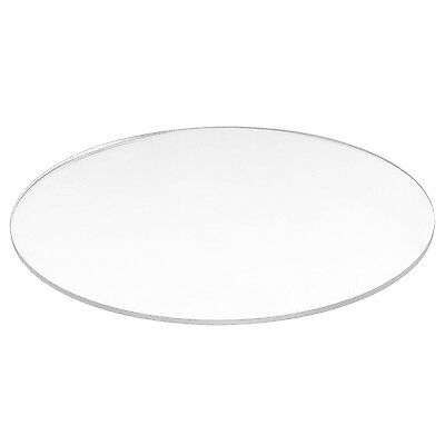 Transparent  3mm thick Mirror Acrylic round Disc B3K9