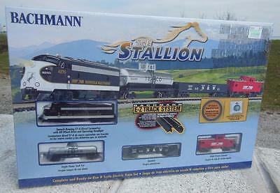 Bachmann Stallion Norfolk Southern F7-A Diesel Locomotive Train Set N Scale New