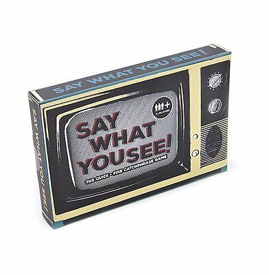 Say What You See catchphrase guessing fun, after dinner or Xmas party fun pp2836