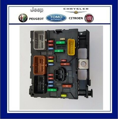 New Genuine OE Citroen Engine Bay Fuse Box (BSM) Fits C3 & C3 PLuriel 6500FH