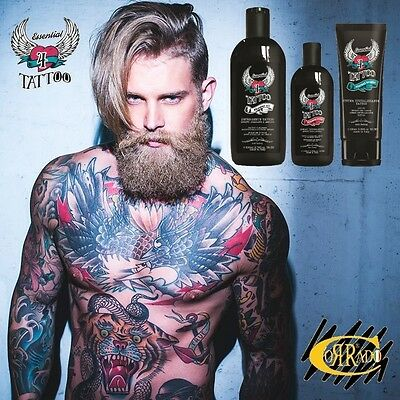 Kit Essential Tattoo Care & Brightness H-Zone - Tatuaggi Brillanti Aftercare
