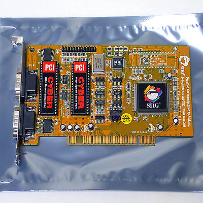 SIIG CyberPro Model: P054-Y2 Dual Serial Port Board JJ-P0212-B