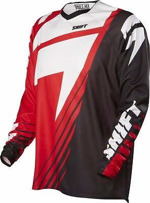 Shift Men's Motocross Off-Road Faction Limited Edition Jersey / Red / Large