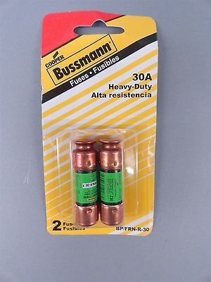 NEW Bussmann BP/FRN-R-30 30 Amp Fusetron Dual Element Time Delay Class Rk5 Fuse