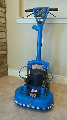 PROCHEM POWER GLIDE TWIN HEADS Rotary Carpet Cleaning Jet Extractor Power Wand