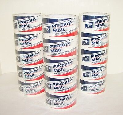 PRIORITY MAIL Tape ~ 15 Rolls ~ NEW and SEALED!