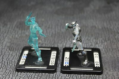 Zor-Raiden and Ultra Zor-Raiden pair for Monsterpocalypse Rise Series 1 USED