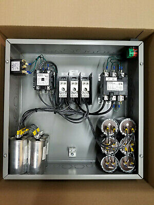 40hp Cnc Balanced 3 Phase Rotary Converter Panel