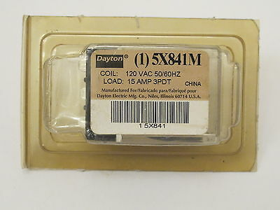 Dayton 5X841M Ice Cube Relay 120 VAC 50/60HZ