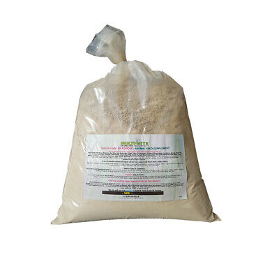 1KG DIATOMACEOUS EARTH Red Mite Worming Powder Feed Grade DE Powder MULTI MITE®