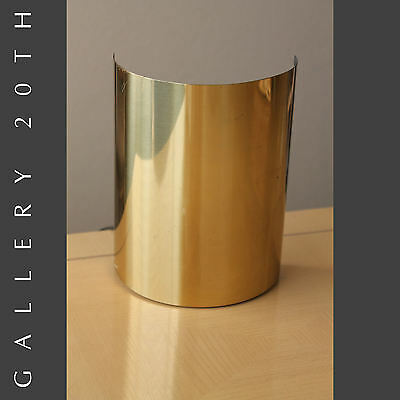 RARE! BRASS LIGHTOLIER TABLE / WALL SCONCE! Mid Century Modern Vtg Eames Lamp