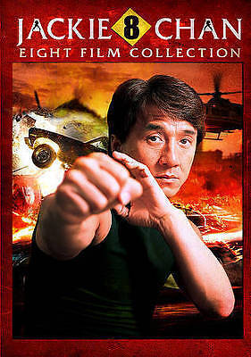 Jackie Chan: Eight Film Collection (DVD, 2014, 2-Disc Set)