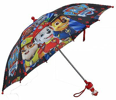 Nickelodeon Paw Patrol Boys Umbrella Marshall 3D Handle RAIN WEATHER ****NEW****