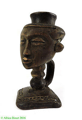 Kuba Cup Figural Head Congo African Art SALE WAS $75.00