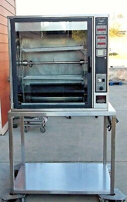 Henny Penny Rotisserie #SCR-8 single door electric counter top refurbished