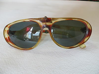 FOLDING  VINTAGE 1940s-50s SUNGLASSES MADE IN ITALY