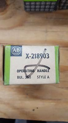 Allen Bradley X-218903R Operating Handle   W212